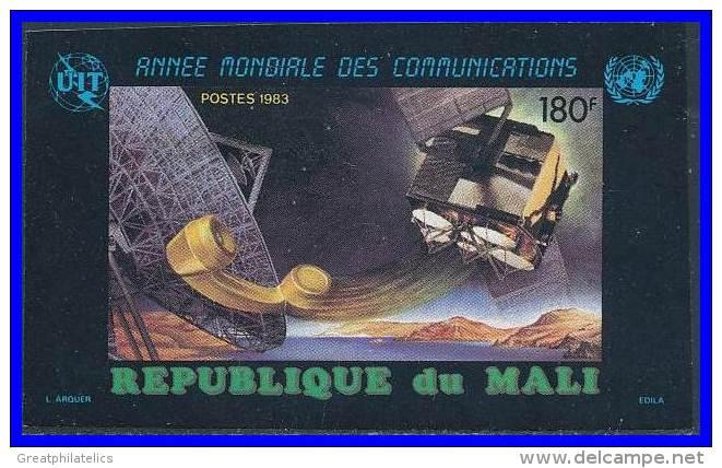 MALI 1983 ITU SPACE TELECOMMUNICATION YEAR SC# 475 IMPERF MNH (D0655) - Space