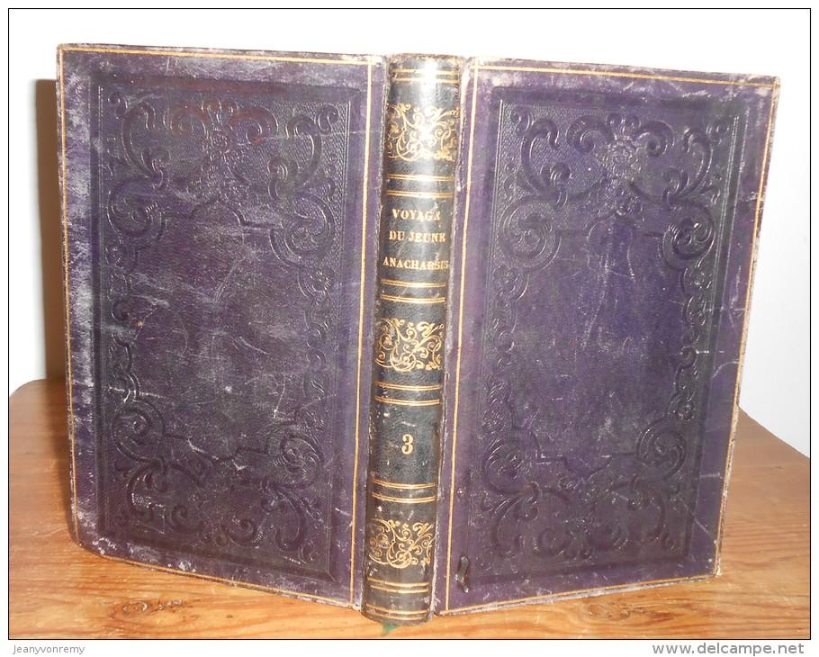 Voyage Du Jeune Anacharsis En Grèce. Par L'Abbé Barthélémy. 4 Volumes. 1838. - Livres, BD, Revues
