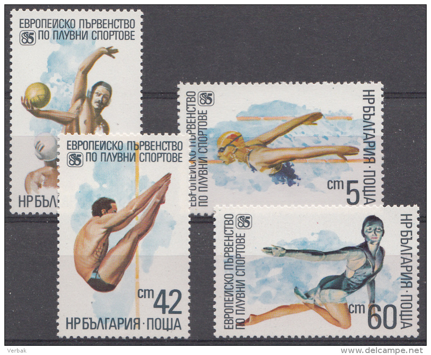 BULGARIJE / BULGARIEN MI.NR. 3380-3383K  SIEHE TEXT !!!  MNH / POSTFRIS / NEUF SANS CHARNIERE 1985 - Nuovi