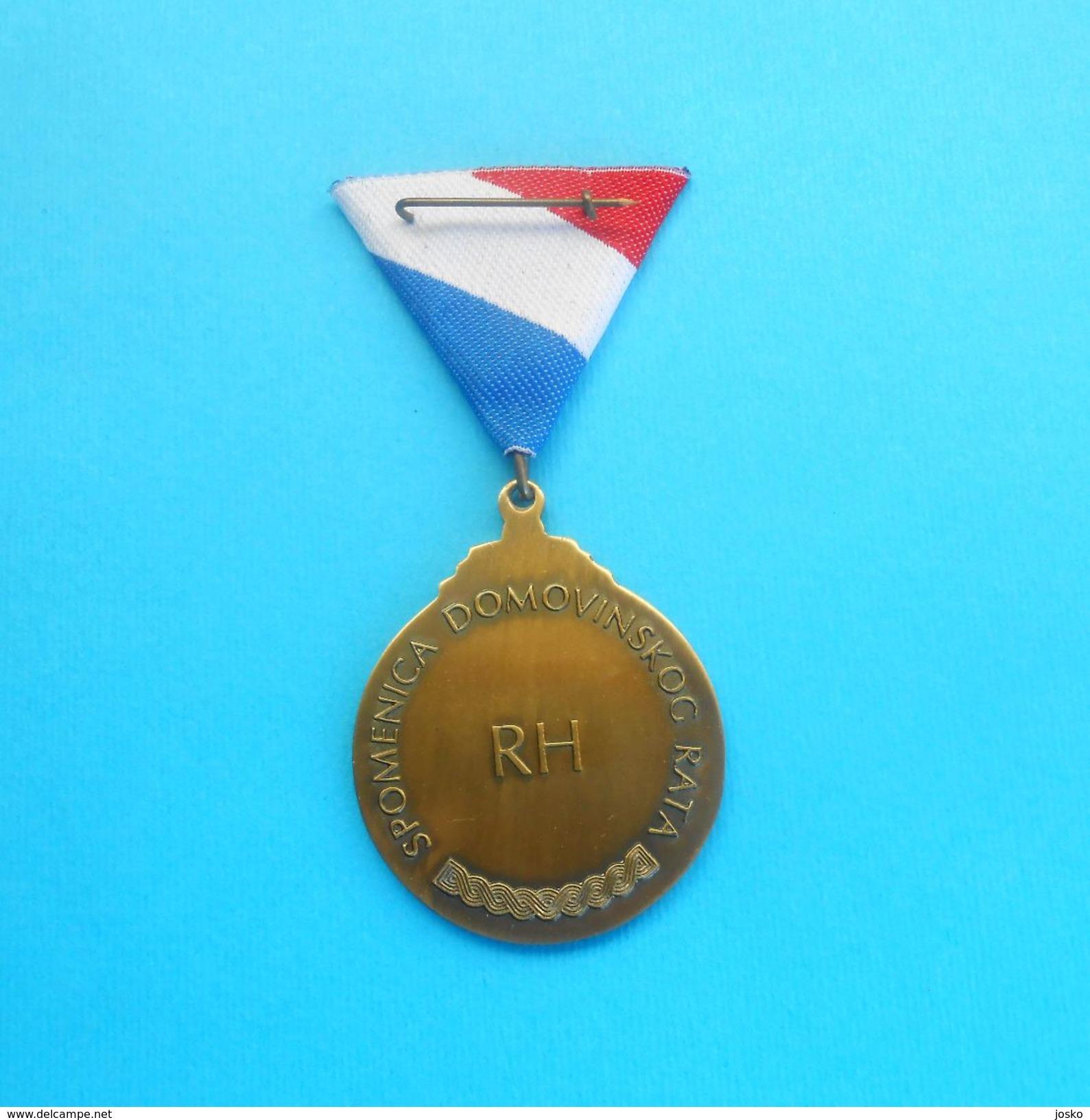 SPOMENICA DOMOVINSKOG RATA ( Homeland War Testimonial ) - CROATIA MEDAL  IN ORIGINAL BOX  ** PERFECT ** Croatie Kroatien - Medals