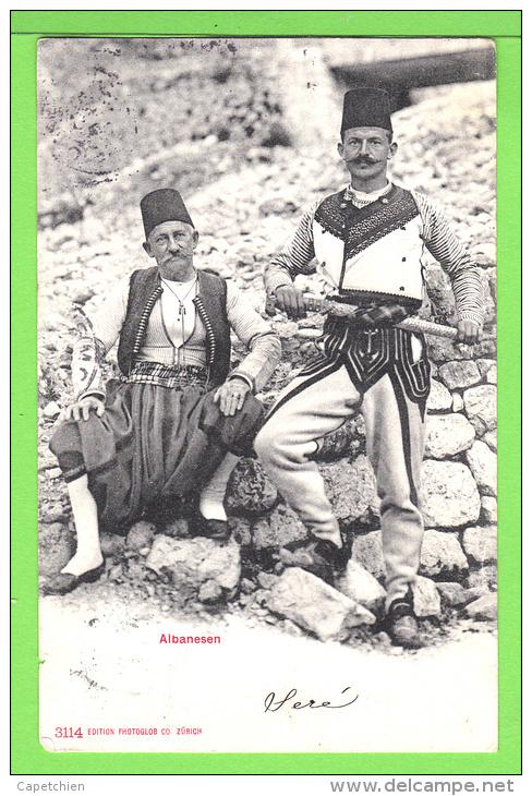 ALBANAIS / ALBANESEN / Carte écrite En 1904 - Albanie