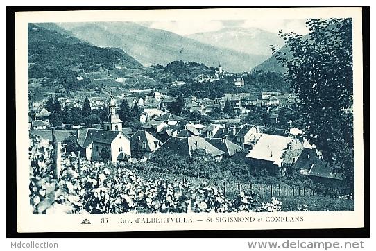 73  ALBERTVILLE / SAINT SIGISMOND / Vue Générale Et Conflans / - Albertville