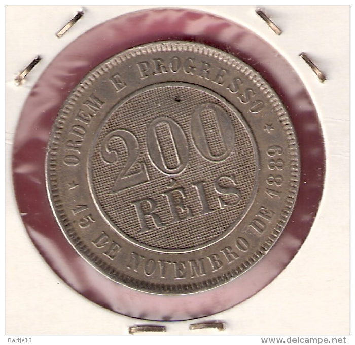 BRAZILIE 200 REIS 1897 - Brésil
