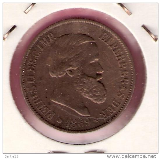 BRAZILIE 20 REIS 1869 - Brésil