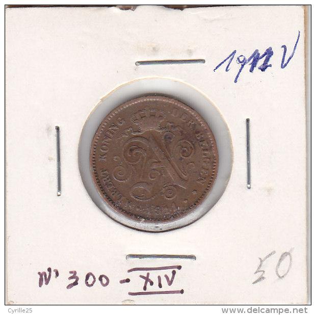 2 CENTIMES Cuivre Albert 1911 FL - 02. 2 Centimes