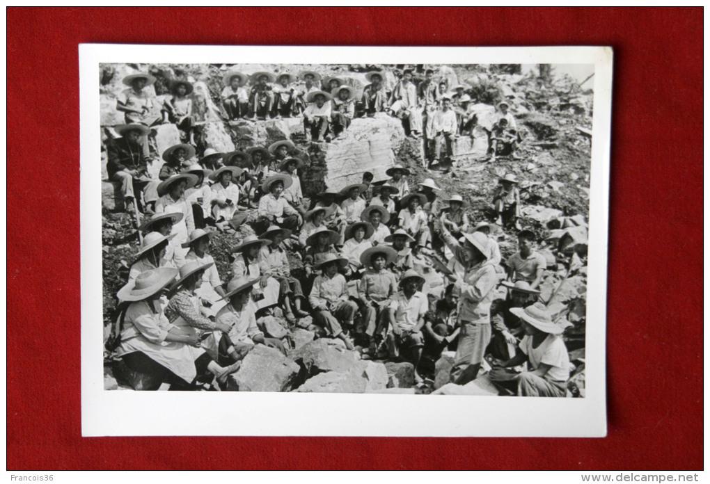 Chine China - Vintage Photo Circa 1980 -  Mine - The Economic Development   - Workers Miners Chinese Revolution - Altri