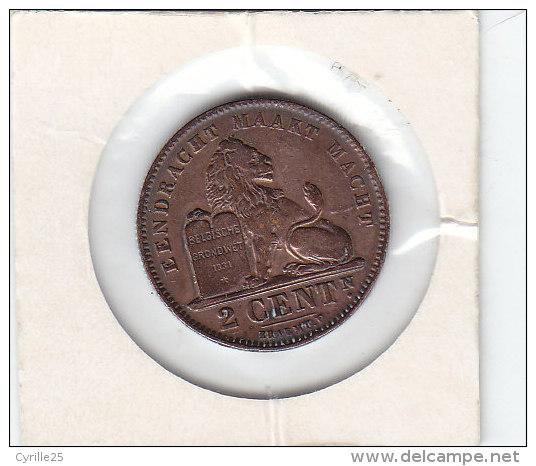 2 CENTIMES Cuivre Albert I 1911 FL - 02. 2 Centimes