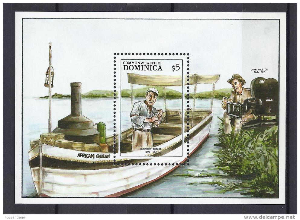 CINEMA - DOMINICA 1988 - Yvert #H131 - MNH ** - Cinema