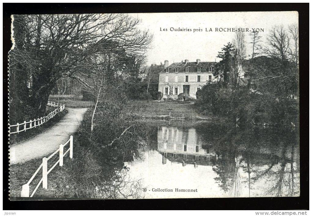 Cpa Du  85  Les Oudairies Près De La Roche Sur Yon   MABT34 - La Roche Sur Yon
