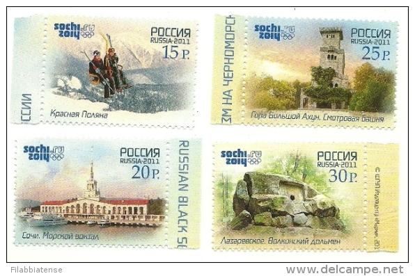 2011 - Russia - Giochi Olimpici Di Sochi, - Inverno 2014: Sotchi