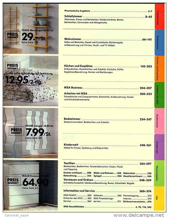 IKEA Katalog 2006  -  Träumen Erlaubt  -  Das Hält Die Gute Laune Hoch  - 376 Seiten - Catalogues