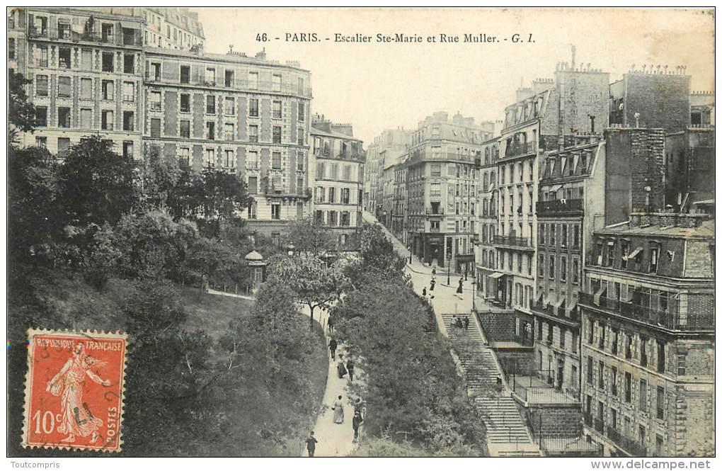 TC-A-13 -073  :  Paris Rue Muller - Non Classés