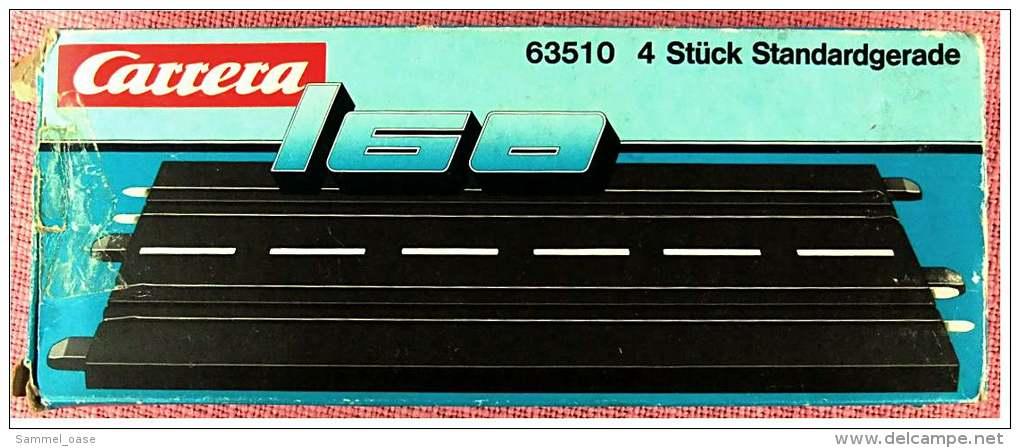 Carrera 160  -  4 X 63510 Standardgerade - Sonstige