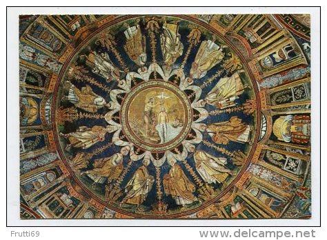 ITALY - AK 173606 Ravenna - Battistero Neoniano - Cupola (Mosaico V. Secolo) - Ravenna