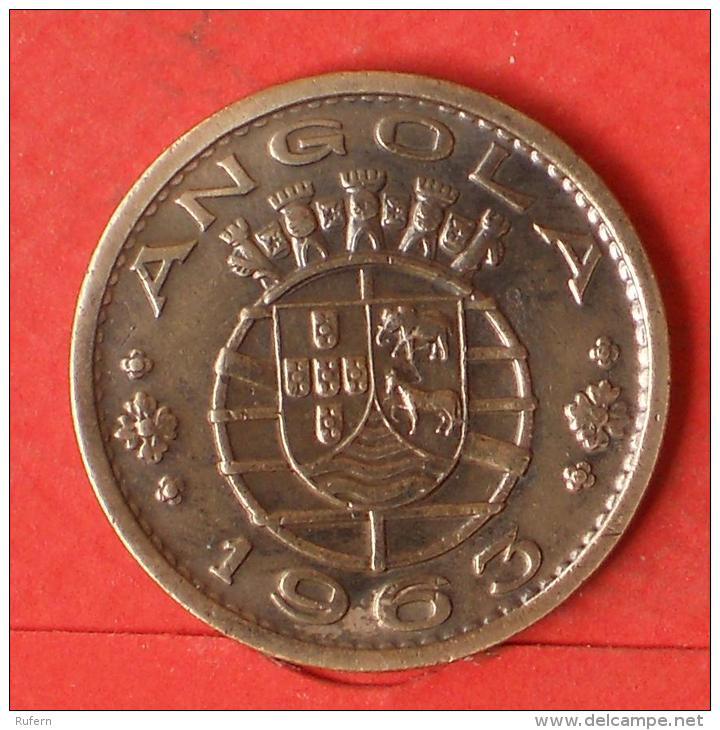 ANGOLA  1  ESCUDOS  1963   KM# 76  -    (Nº03255) - Angola
