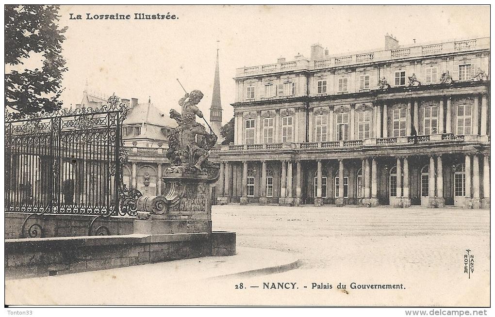 NANCY  - 54 -  Le Palais Du Gouvernement  - Zzz - - Nancy