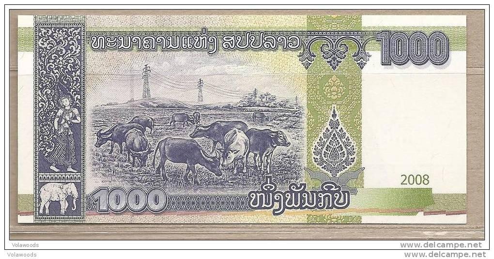 Laos - Banconota Non Circolata Da 1000 Kip - 2008 - Laos