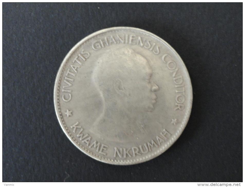 1958 - FAUSSE MONNAIE - 10 SHILLINGS GHANA - Ghana
