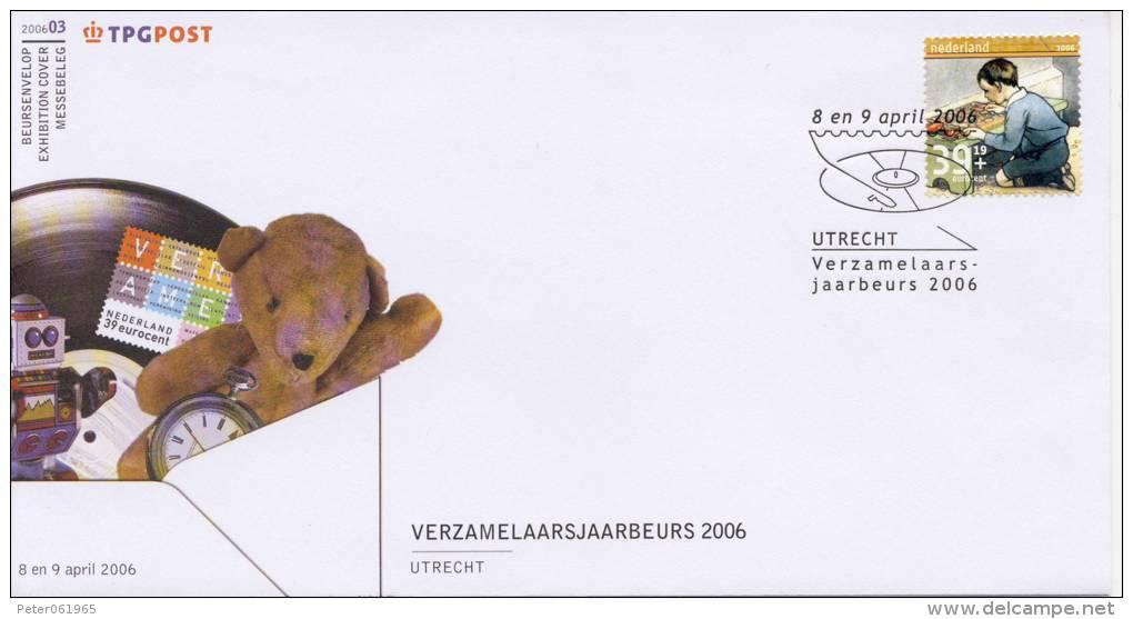 Beursenvelop 2006-03: Verzamelaarsjaarbeurs 2006 - Period 1980-... (Beatrix)