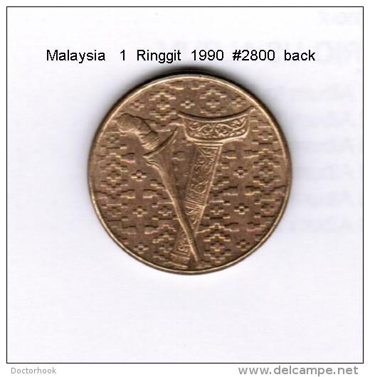 MALAYSIA    1  RINGGIT  1990  (KM # 54) - Malaysia