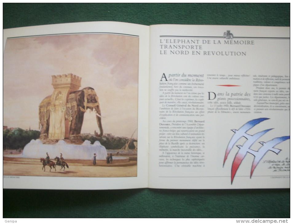 NORD 59 - L' ELEPHANT DE LA MEMOIRE- 1989-   (Voir 6  Scans) - Programmes