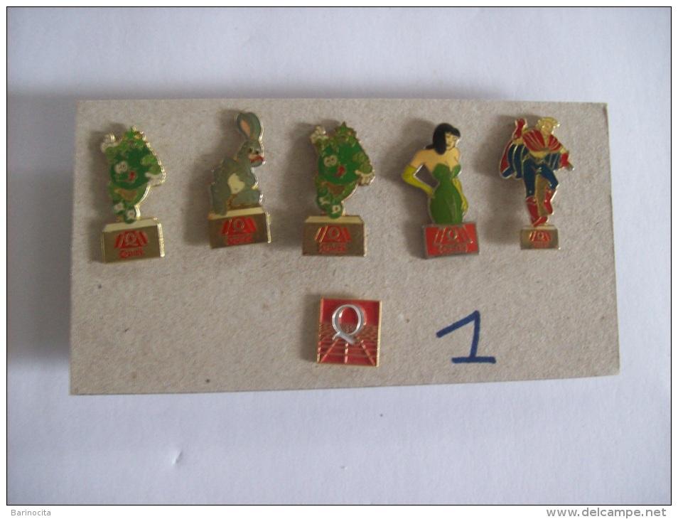 PIN´S -  QUICK  Lot De 6 Pin's   - Voir Photo (1) - Merken