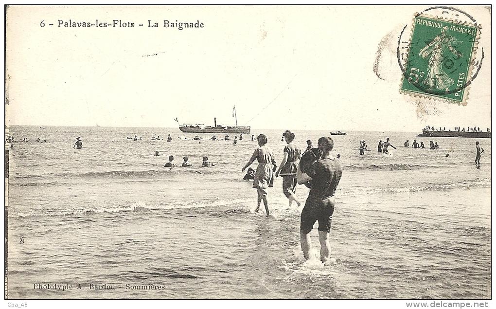 Hérault- Palavas-les-Flots -La Baignade - Palavas Les Flots