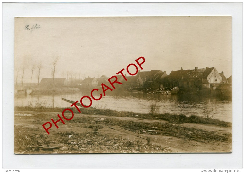 SINT ELOOIS-Saint Eloi-Peniches-Carte Photo Allemande-Guerre 14-18-1WK-BELGIEN-BELGIQUE-FLANDERN-Flandres- - Ledegem