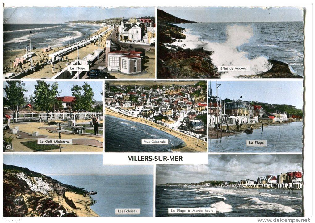 CPSM FORMAT ACTUEL  -  VILLERS-SUR-MER  -  MULTIVUES - Villers Sur Mer