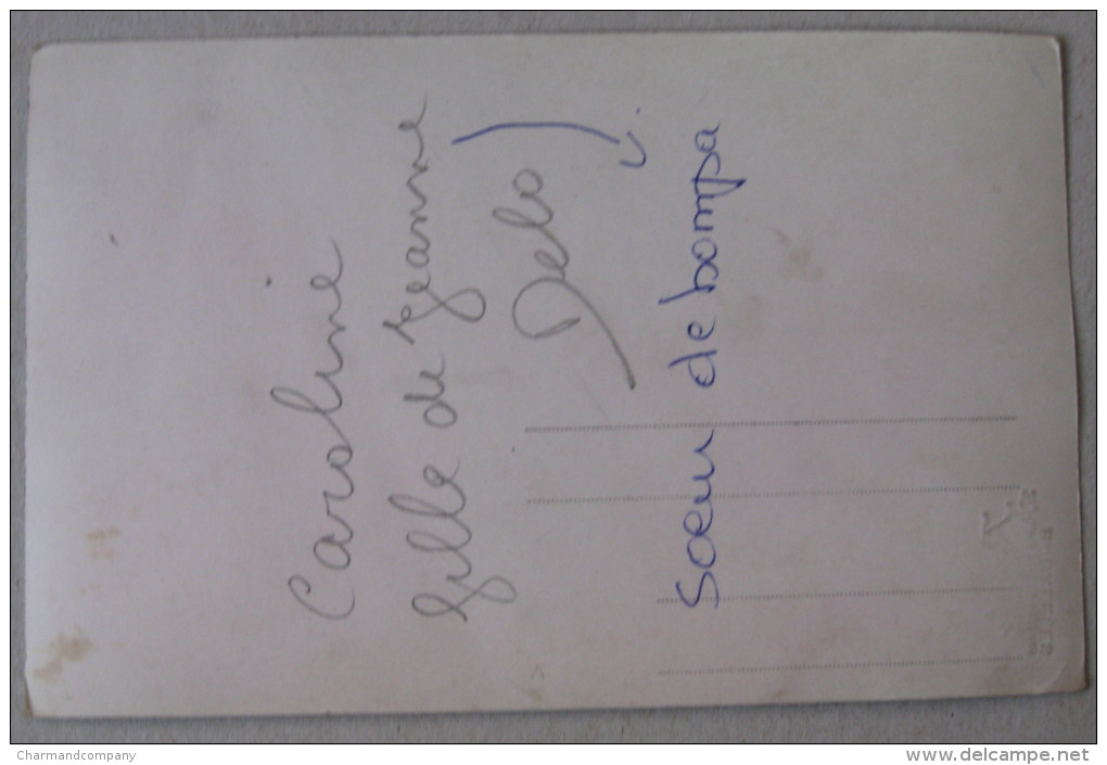 Photo-Carte - Petite Danseuse - Photographe Raoul, Rue Des Augustins, Bruxelles - Portretten
