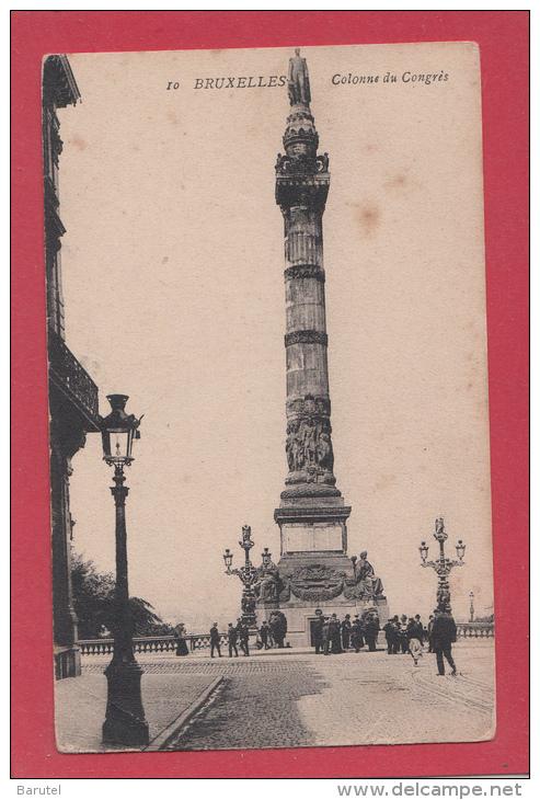 BRUXELLES [Bruxelles ~ Belgique] --> Colonne Du Congrès - Monumenti, Edifici