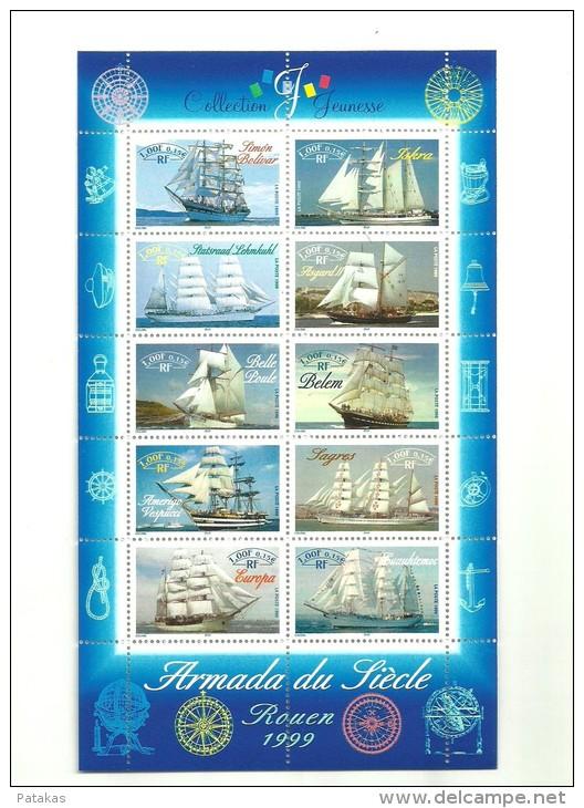 Bloc Armada Du Scilècle Rouen 1999 - N°Y&T 25 - Mint/Hinged