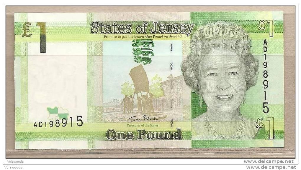 Jersey - Banconota Non Circolata Da 1 Sterlina - 2010 - Jersey
