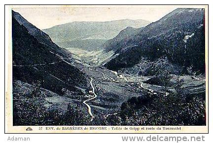 Gripp   1221          Vallée De Gripp Et Route Du Tourmalet  . - Autres Communes