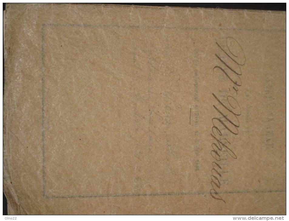 MARSEILLE-LIVRET PILOTE - Charles MEHOUAS-capitaine  - 1897 - VAPEUR MEMPHIS - Bateaux