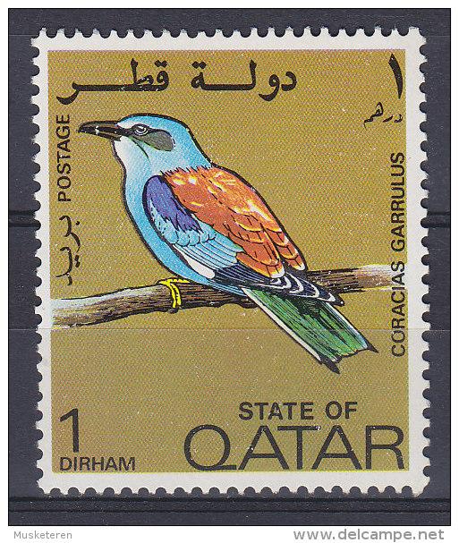 Qatar 1972 Mi. 528     1 D Bird Vogel Oiseau Blauracke MNH** - Qatar