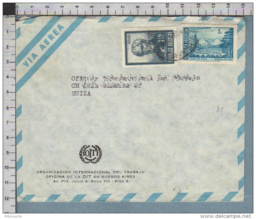 B9929 ARGENTINA Postal History 1972 GUILLERMO BROWN TIERRA DEL FUEGO RIQUEZA AUSTRAL - Argentina