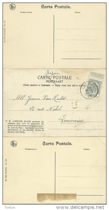 Leers Et Fosteau - Le Château  - 3 Cartes ( Voir Verso ) - Thuin