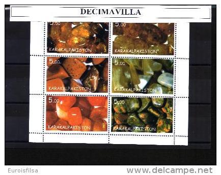 KARK, MINERALES, 6 VAL, CINDERELLAS - Minerales & Fósiles