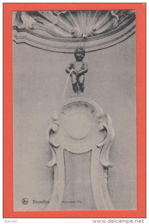 BRUXELLES [Bruxelles ~ Belgique] --> Manneken Pis - Monumenti, Edifici