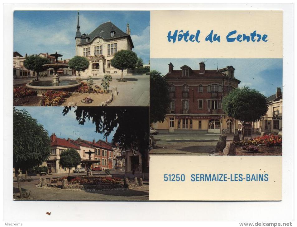 CPM  51 : SERMAIZE Les BAINS   Multi Vues    A  VOIR  !!!!!!! - Sermaize-les-Bains