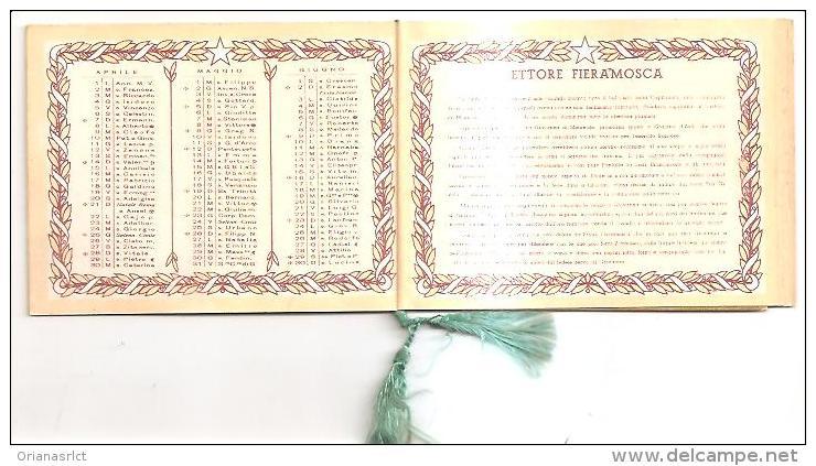 60247) Calendarietto Del 1940 Ettore Fieramosca - Kalenders