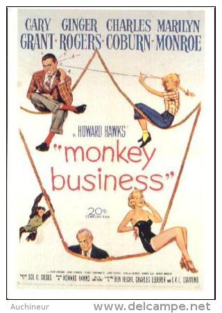 MARILYN MONROE - Classicos Cinema 237 Monkey Business - Acteurs