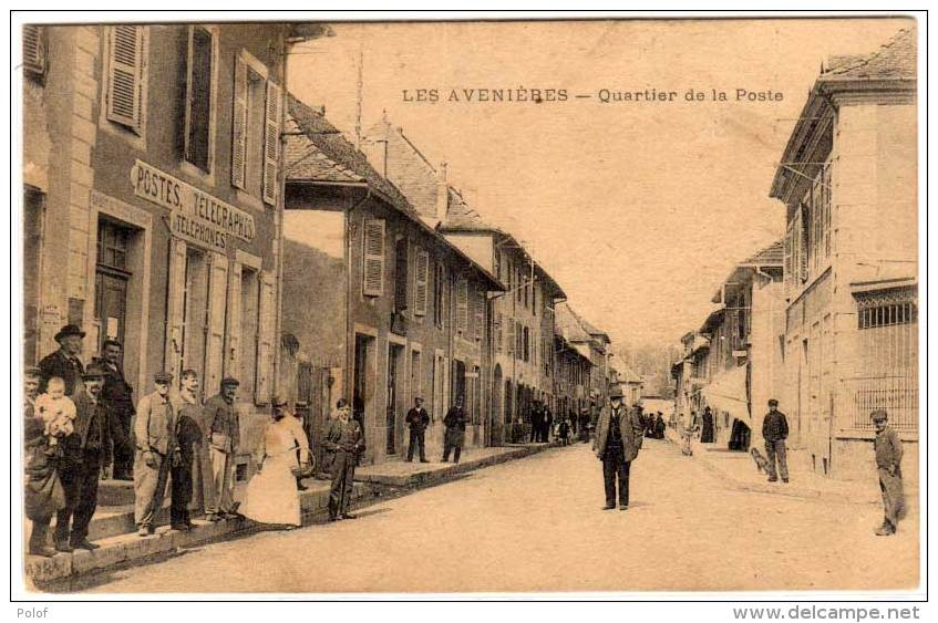 LES AVENIERES - Quartier De La Poste   (61501) - Les Abrets