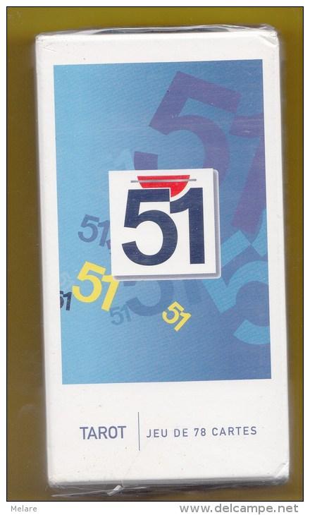 PASTIS  51 Alcool Publicité Vintage Cartes à Jouer  Tarot - Tarots