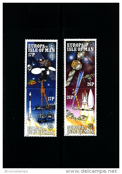 ISLE OF MAN - 1991  EUROPA  SET  MINT NH - Isola Di Man