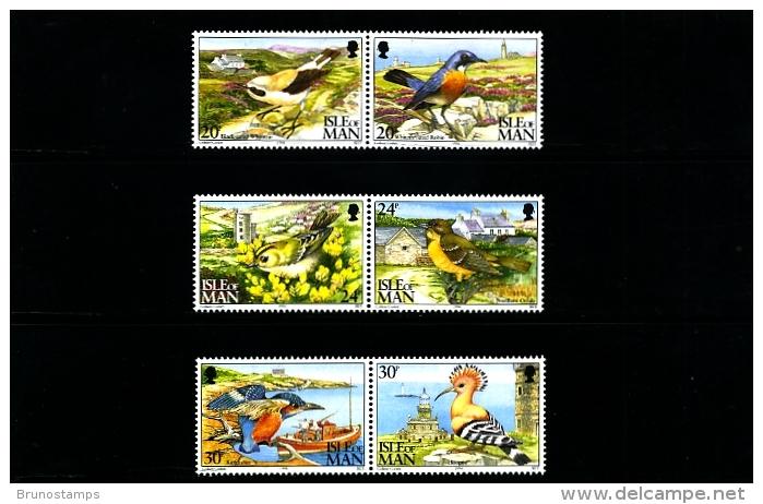 ISLE OF MAN - 1994  CALF OF MAN BIRD OBSERVATORY  SET  MINT NH - Isola Di Man