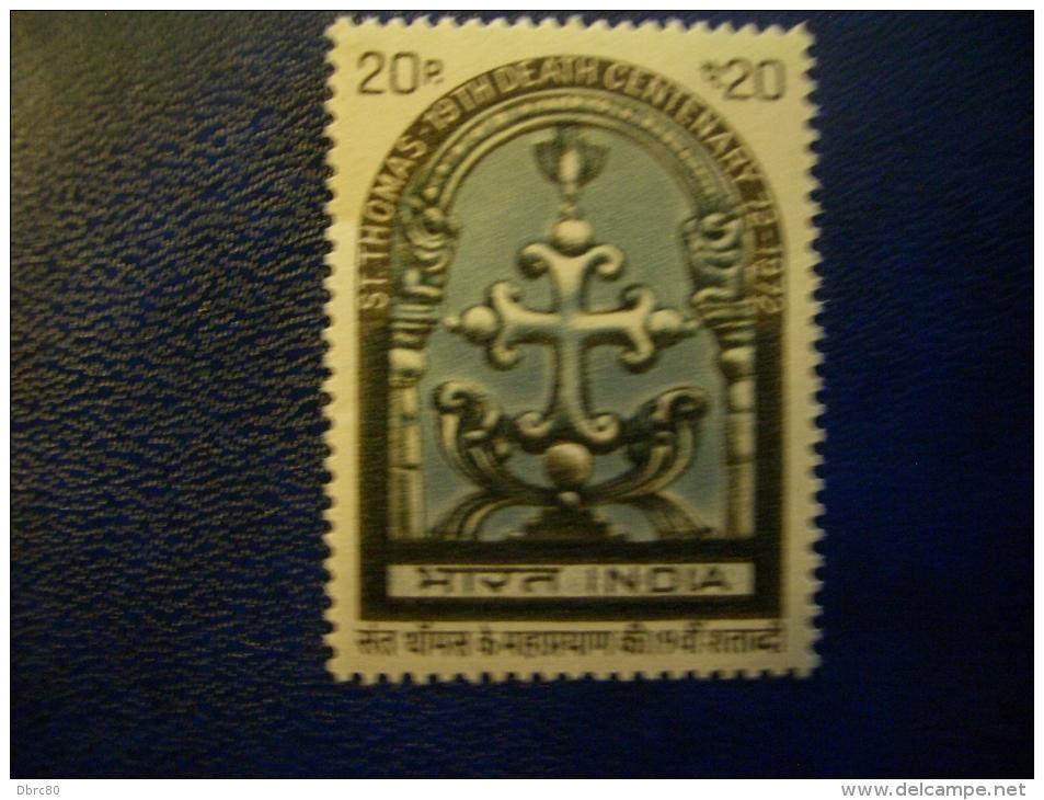 India- 1972, Apostle,  Religion, St Thomas, Cross - Christentum
