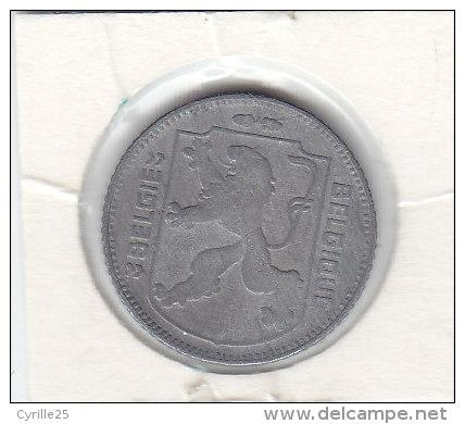 1 FRANC Zinc Léopold III 1946 FL/FR - 1934-1945: Leopold III