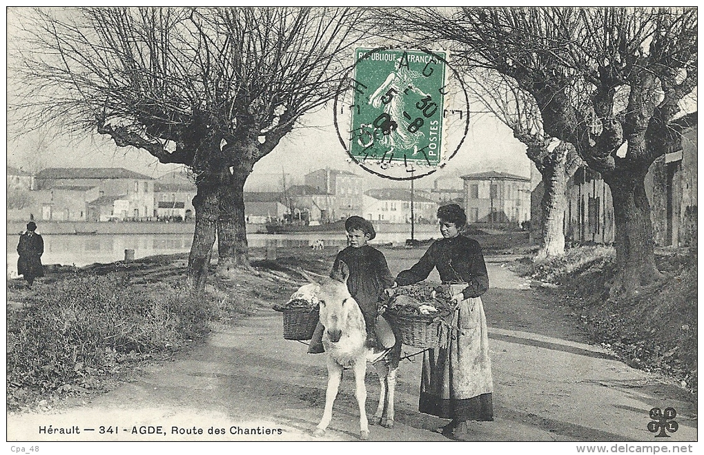 Hérault- Agde -Route Des Chantiers. - Agde